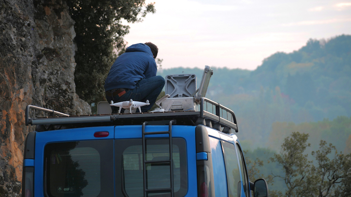 tournage plans drone nouvelle aquitaine