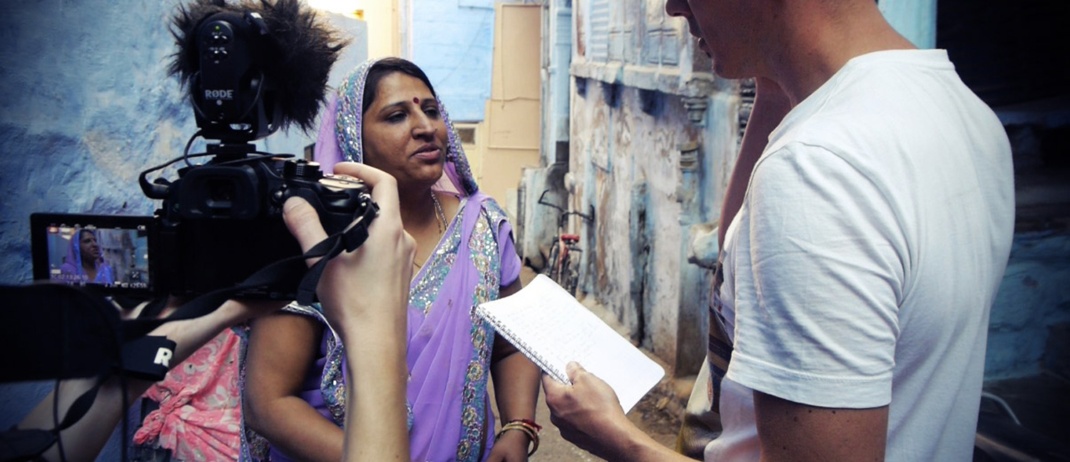 formation video et reportage en Inde