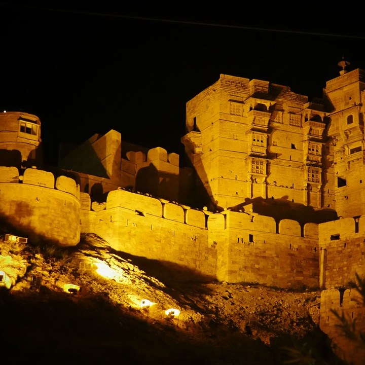 jaisalmer by night
