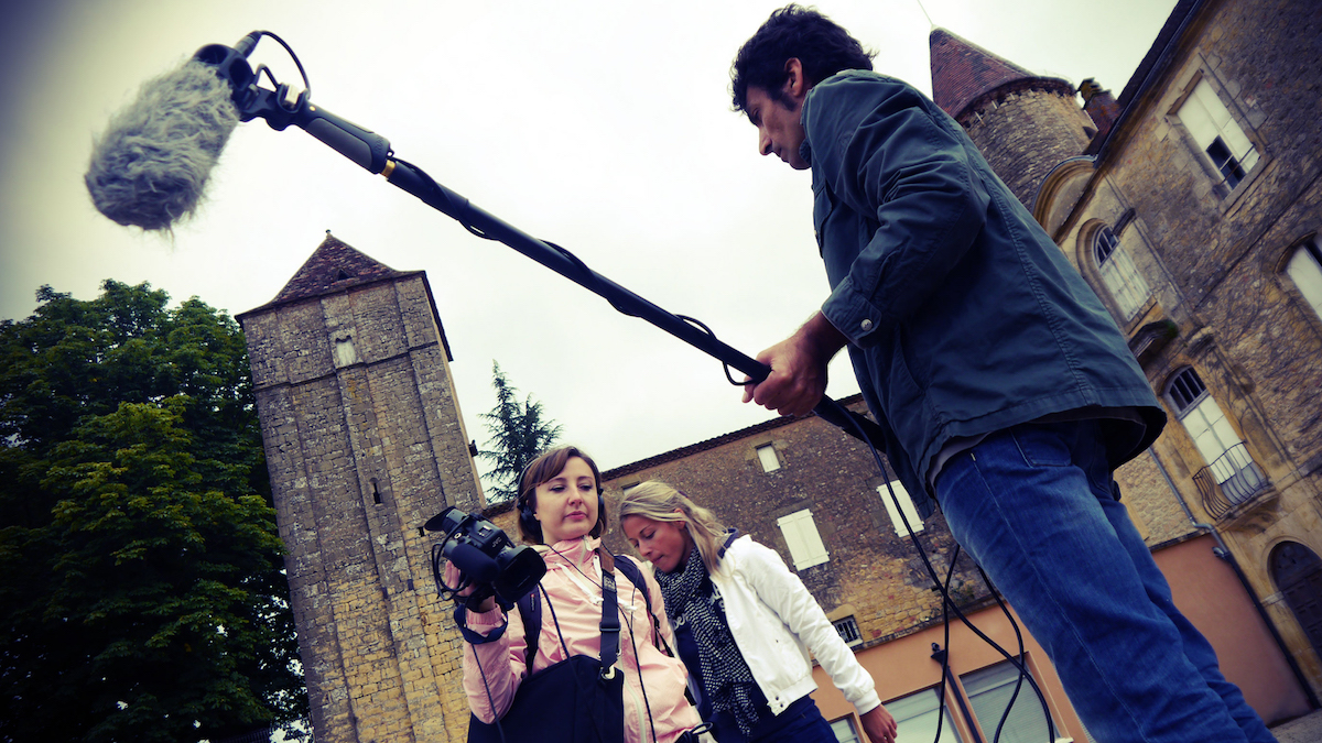 tournage aquitaine