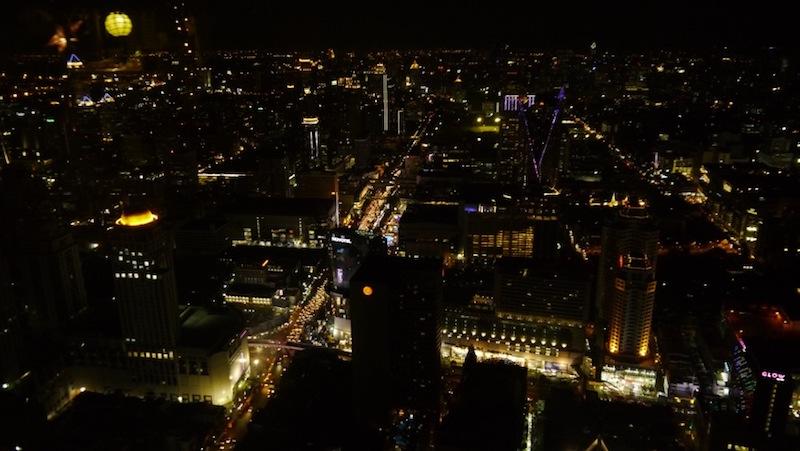 time lapse de nuit bangkok