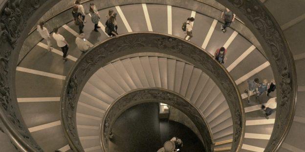 escalier vatican