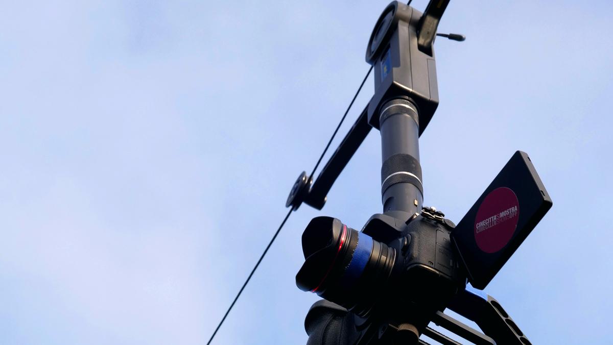 système de prise de vue Wiral cable