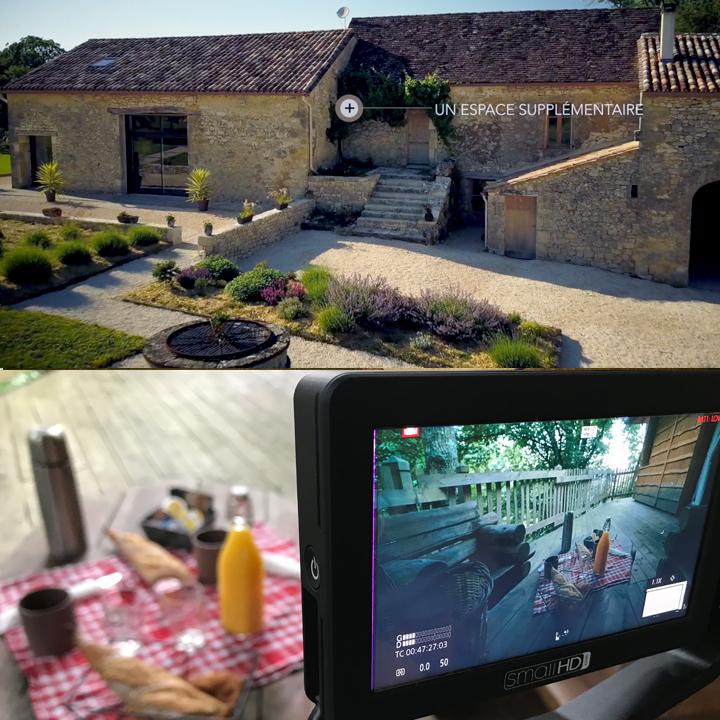 drone immobilier en aquitaine