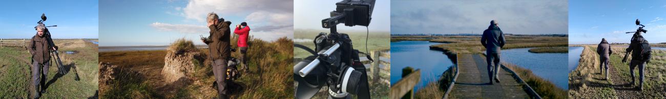 tournage dans la réserve pour la LPO
